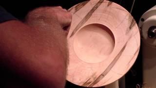 Wgnc Demo: Trent Bosch (2 Of 2) Carves Up A Platter Oct. 10, 2013