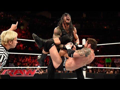 Roman Reigns vs. King Barrett: Raw, June 1, 2015