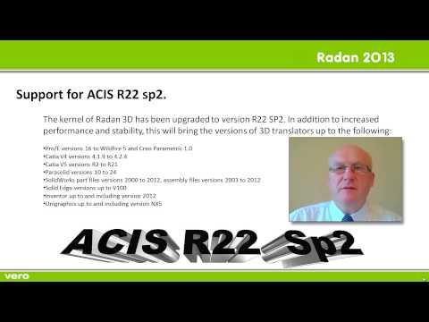 Поддержка ACIS 22 Sp2.