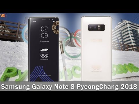 Samsung Galaxy Note8 PyeongChang 2018 Limited EDITION - You Can't buy!