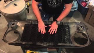 Jeep JK JWM4x4 Grill Insert Install