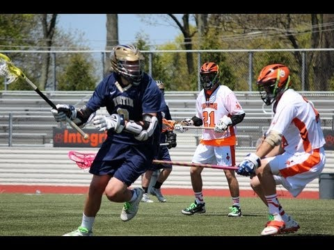 Mark Campanile UMASS LOWELL COMMIT  #8 Attack, Bayard Rustin High School 2nd Half  2013