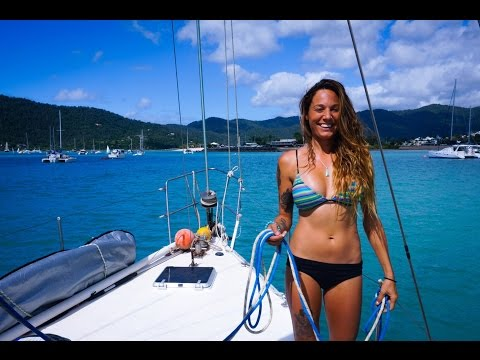 Adventure time, Island hopping and the Great Barrier Reef (Sailing Nandji) Ep 3,