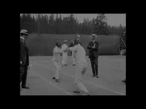 Download 1912 - Fencing Competition Olympics - Stockholm Sweden