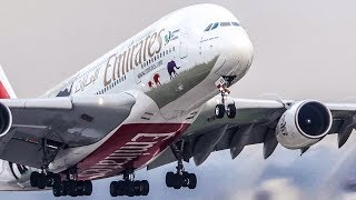 AIRBUS A380 DEPARTURE + BOEING 747 LANDING - Which planes shall I feature next? ASKCargo 012#