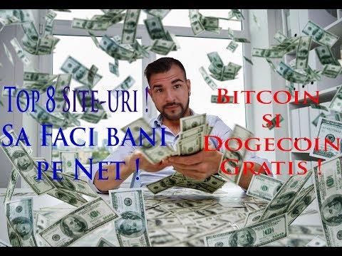 câștigați bani pe Internet fără investiții cu retragere