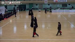 KYOTO vs TOCHIGI 10th All Japan Interprefecture Ladies KENDO Championship 2018 3rd Round
