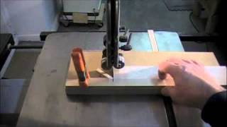 How To Make Designs In Wood Inlay Banding - Band Saw Woodworking Skills & Techniques
