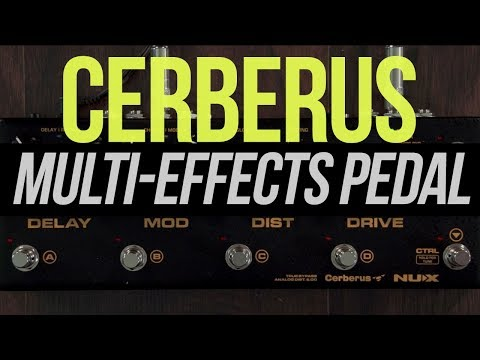 NUX Cerberus Integrated Effects Pedal & Controller