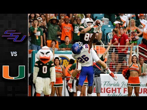 Savannah State vs. Miami Football Highlights (2018)