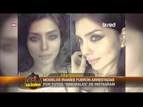 Modelos iraníes fueron arrestadas por fotos en Instagram