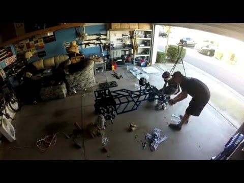 (Homemade) Go Kart Build Project 26: Re-Assembly and Failed Test Drive!
