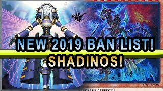 2019 New Ban list Shadinos ! Shaddolls And Dinosaurs  With Yugioh Deck Profile