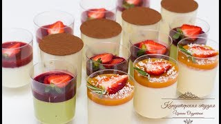 Десерты в стакане. Научиться готовить просто!