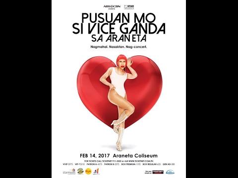FULL: PUSUAN MO SI VICE GANDA SA ARANETA Feb 14, 2017