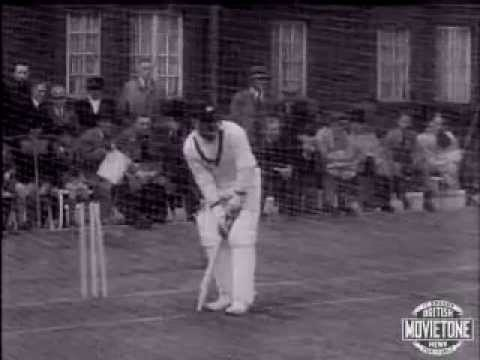 Don Bradman and the Australians at Lord's in April 1938