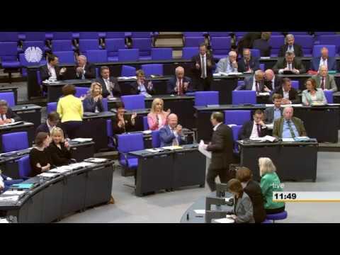 Rede zum Haushalt des Gesundheitsministers Jens Spahn am 18.05.18