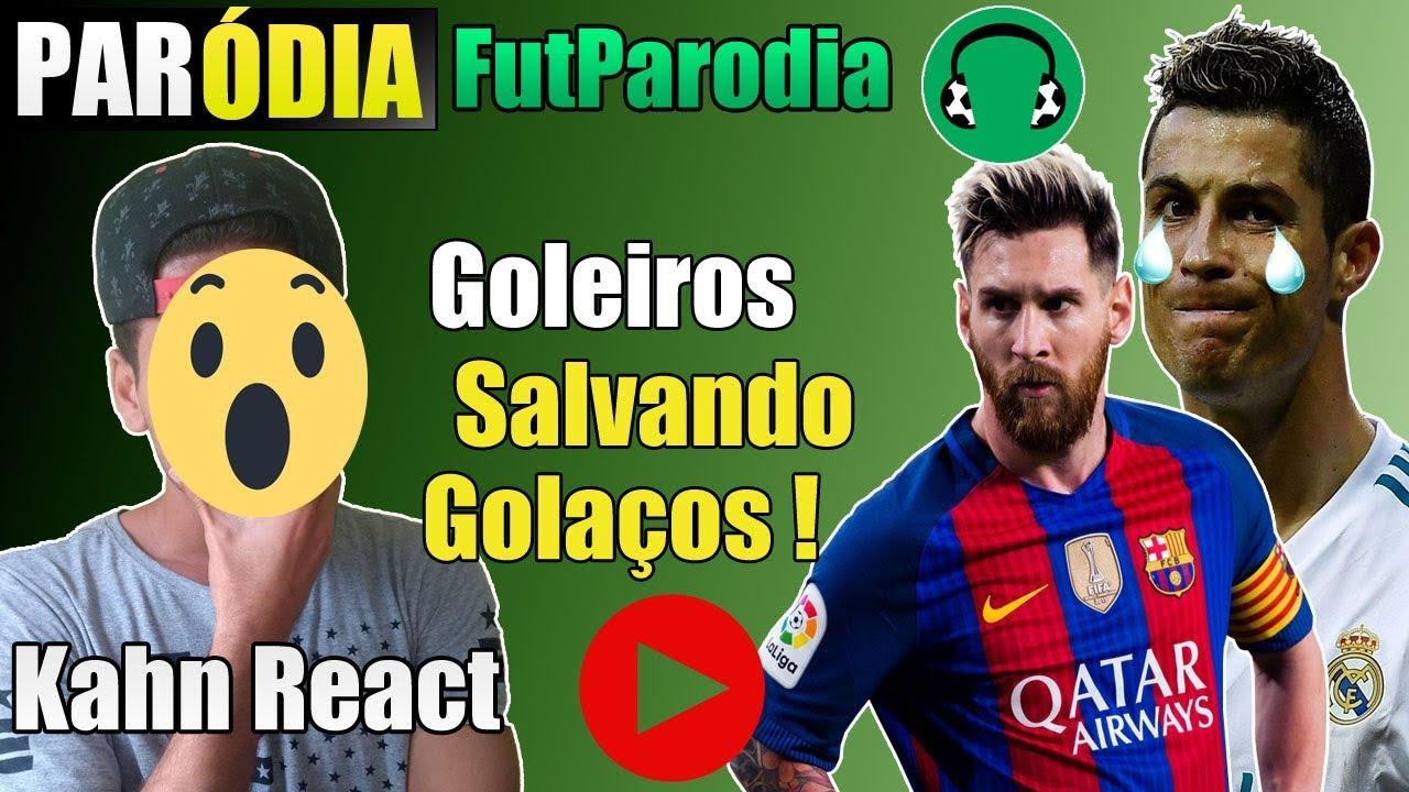 ♫ GOLEIROS SALVANDO GOLAÇOS | Paródia Quero Que Tu Vá - Ananda e Joker Beats | React/Reação