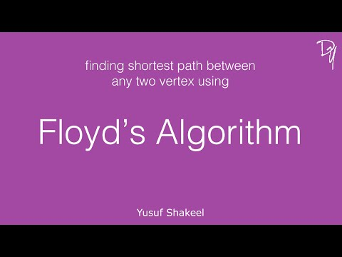 Floyd's Algorithm - step by step guide