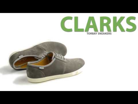 Clarks Torbay Sneakers - Suede, Lace-Ups (For Men)