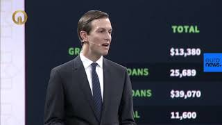 """Jared Kushner opens the """"Peace to Prosperity"""" workshop in Bahrain"""