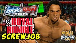 "WWE Smackdown vs Raw 2009 - ""ROYAL RUMBLE SCREWJOB!!"" (RTWM #2)"