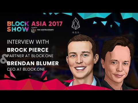 BlockShow Asia 2017: Interviews with Brock Pierce and Brendan Blumer