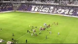 Así despidió la afición a Álvaro Rubio tras el Real Valladolid-Mallorca