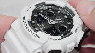 Обзор наручных часов CASIO G-SHOCK GA-100L-7A - видеообзор от интернет-магазина MinutaShop.ru