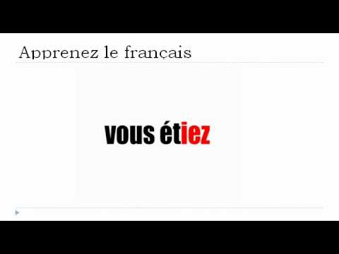 Lezione di francese - Verbo essere all'imperfetto