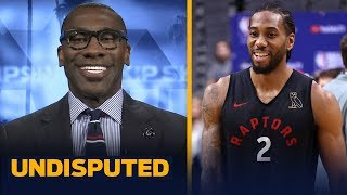 'It's over, the Toronto Raptors will be the 2019 NBA Champs' — Shannon Sharpe | NBA | UNDISPUTED