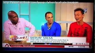 Exposé Broadcast TV - Channel News Asia AM Live - Gupson, Juan & Jackson SISF 2012