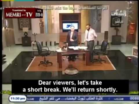 Salafi Vs Ex Salafi fight live TV egypt
