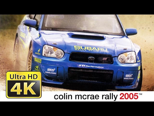 Old Games in 4k : Colin McRae Rally 2005