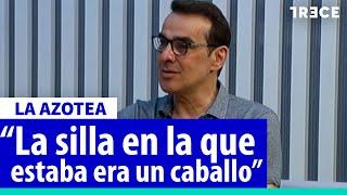 Luis Merlo y el casting más 'surrealista' que hizo para Fernando Arrabal
