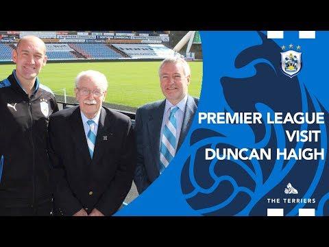 WATCH: Premier League visits 85-year-old Turnstile Supervisor Duncan Haigh