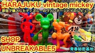 原宿ヴィンテージUNBREAKABLE5で購入したディズニーヴィンテージトイのレビュー‼︎ thumbnail