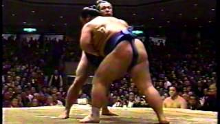 Sumo - Chiyonofuji (千代の富士 貢) Day 5-15 Matches - Hatsu Basho - Jan. 1990