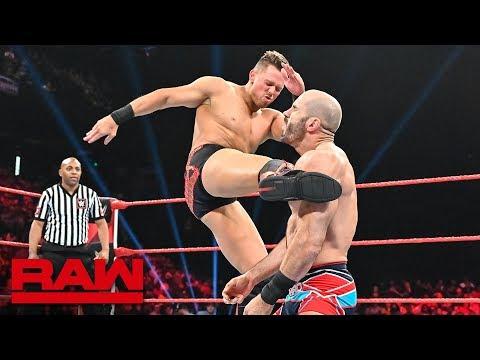 The Miz vs. Cesaro: Raw, Sept. 2, 2019