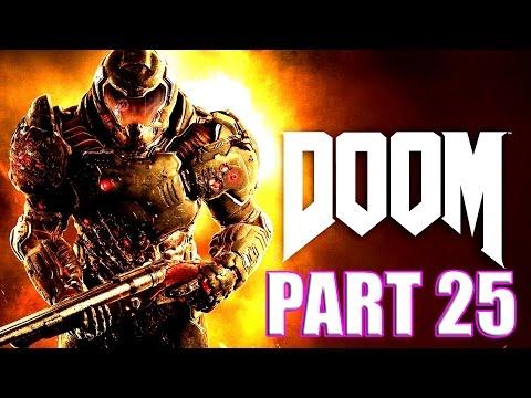 Doom PS4 Gameplay Part 25 Overload Vega Core Chainsaw & Ammo