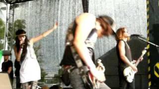 Jennifer Rostock - Diadem Live 11.07.2009