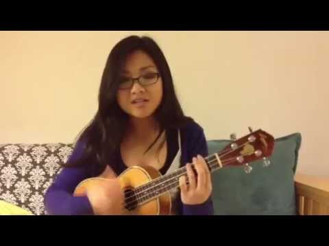 Set Fire To The Rain Ukulele Cover By Adele Youtube