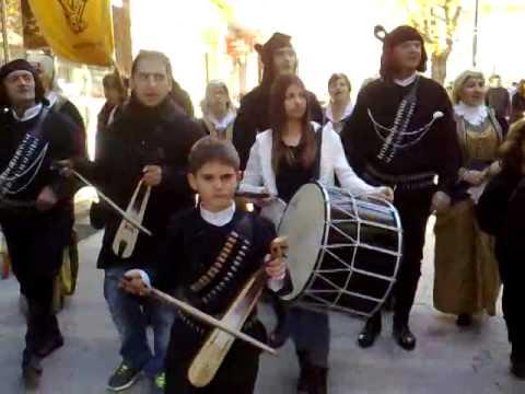 Traditional Greek (PONTIAKA) CHRISTMAS CAROLS from Kozani city 12/24/2014,