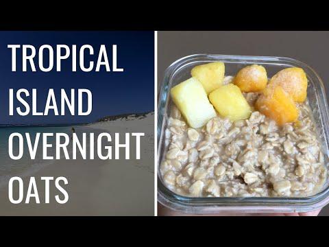 Tropical Overnight Oatmeal
