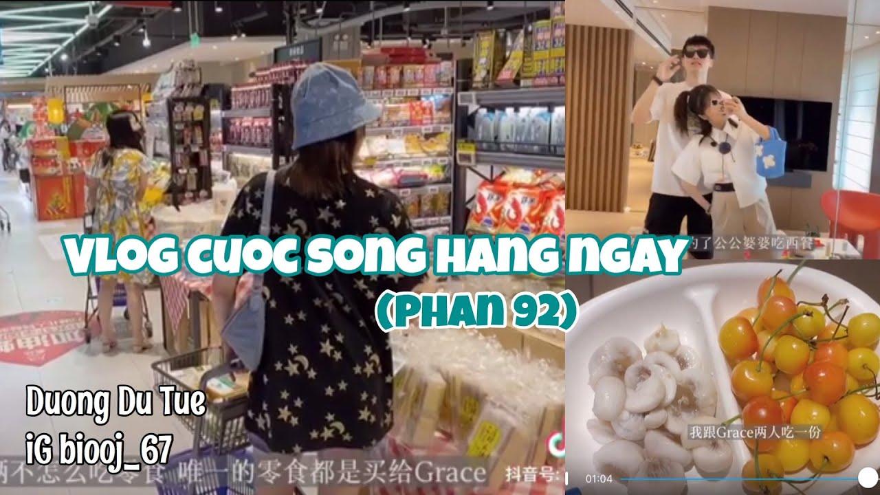抖音【Phần 92】Cuộc sống thường ngày của cap doi Trung Quốc | Tổng hợp vlog c/s hàng ngày TIKTOK CHINA