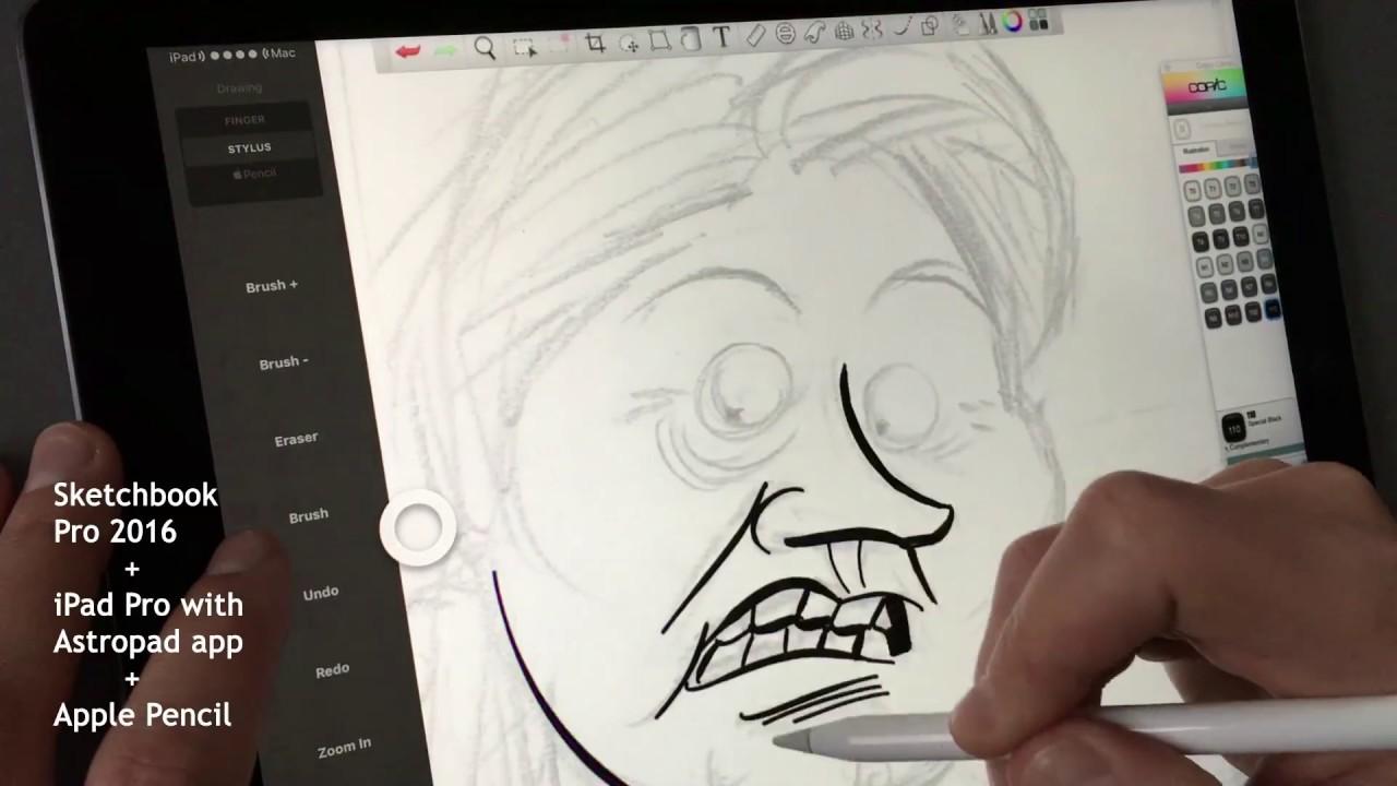 astropad app apple pencil