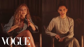 Kendall Jenner, Gigi Hadid, and Paloma Elsesser Tell Scary Stories | Vogue