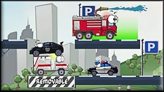 Vehicles 3: Car Toons - Game Walkthrough (all 1-36 lvl)