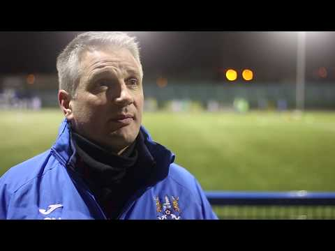 Manager Chats to New Ards FC TV