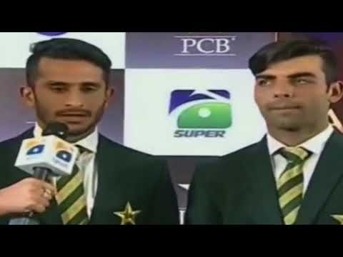 Funny Interview of Hassan Ali and Shadab Khan
